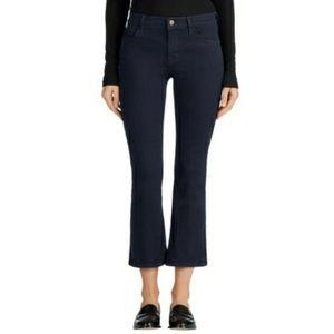 J Brand Selena Bootcut Skinny Crop Flare Jeans 24